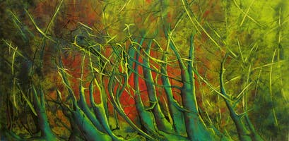 3rd Thursday Art Night Out - Nature and Abstraction by Barb Rydz Ross