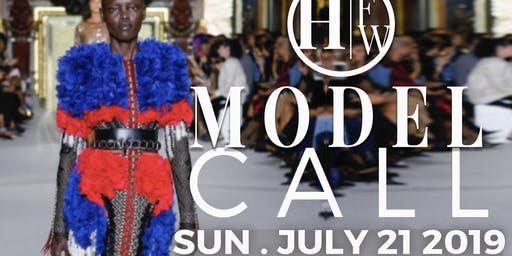 HARLEM FASHION WEEK: Model Casting