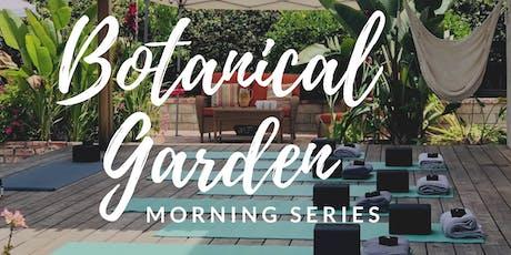 Botanical Garden Yoga & Wellness - 8 Week Summer Morning Series tickets