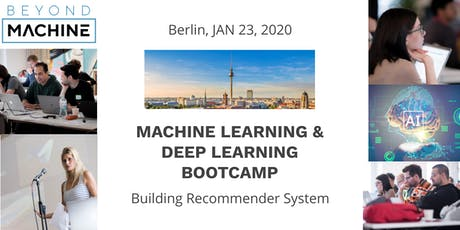 Machine Learning & Deep Learning Bootcamp: Building Recommender System Tickets