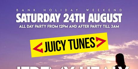 Juicy Tunes - Bank Holiday tickets