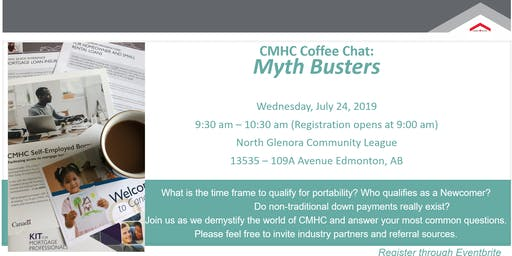 CMHC Coffee Chat: Myth Busters