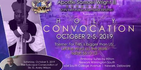 URAM Holy Convocation 2019 tickets