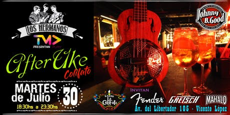 """After Uke"" Colifato Special Edition en Johnny B.Good- Martes 30 de Julio entradas"