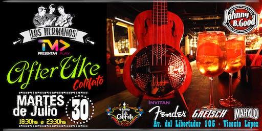 """""""After Uke"""" Colifato Special Edition en Johnny B.Good- Martes 30 de Julio"""