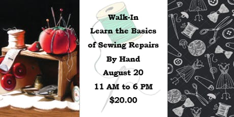 Walk-In: Learn the Basics of Sewing Repairs by Hand tickets
