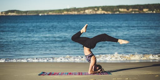 Yoga at the Beach: Open Level Hatha Flow