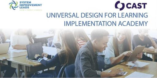 Universal Design for Learning Implementation Academy (El Monte - April)