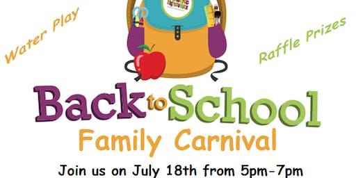 Back To School Family Carnival