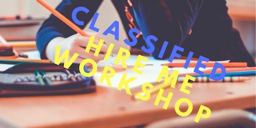 Coast College's Classified Hire Me Workshop