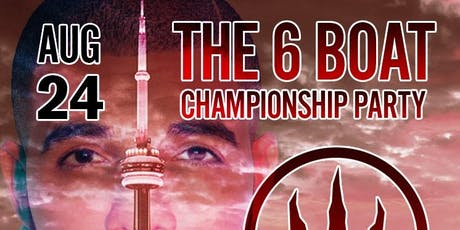 The 6boat Championship Party tickets