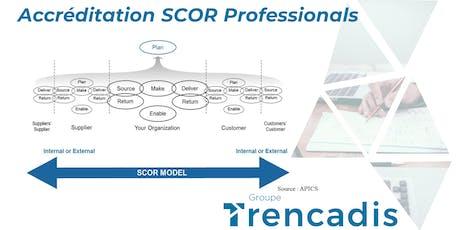 Accréditation SCOR-P à Montréal billets