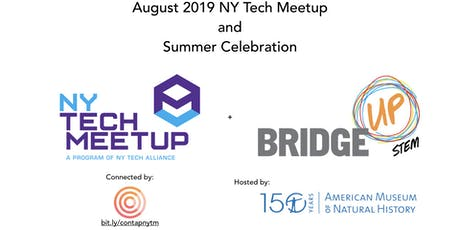 August 2019 NY Tech Meetup and Summer Celebration tickets