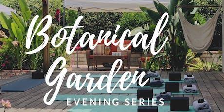 Botanical Garden Yoga & Wellness - 8 Week Summer Evening Series tickets