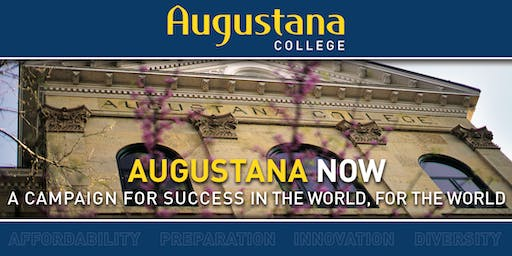 AUGUSTANA NOW Campaign Receptions in California