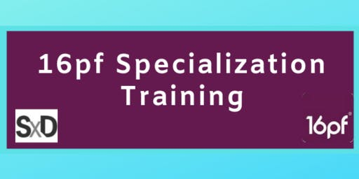 16pf Specialization Training
