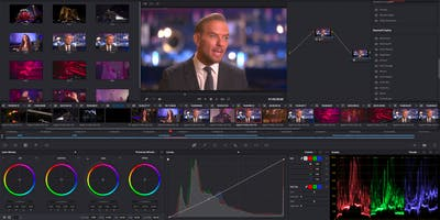 DaVinci Resolve 16: Color Grading Workshop | Monmouth Film Festival