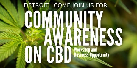 CBD Community Awareness tickets