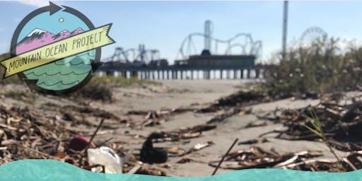 Galveston Beach Cleanup
