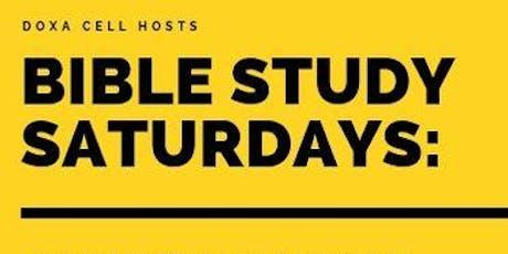 Bible Study Saturdays tickets