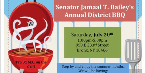 Senator Jamaal T. Bailey's Annual District BBQ