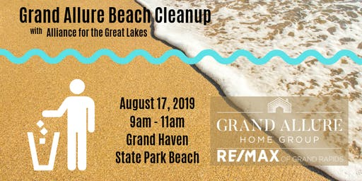 Grand Allure Beach Cleanup