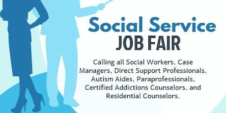 Alignstaffing Social Service Job Fair  tickets