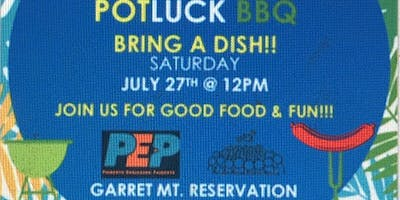 3rd Annual PEP BBQ & Potluck on Saturday, July 27th from 12pm - 4pm