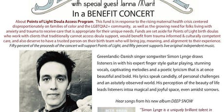 Summer Benefit Concert with Simon Lynge tickets