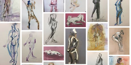Monday Life Drawing - with live music tickets