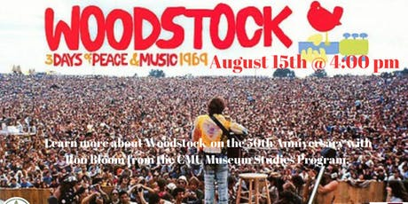 The History of Woodstock tickets