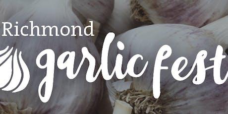 Richmond Garlic Festival tickets