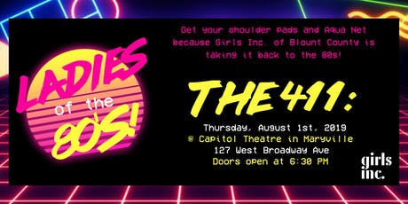 Girls Night Out - Ladies of the 80's! tickets