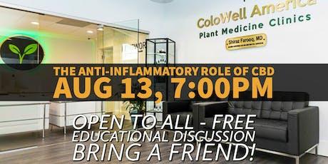 Educational Talk *FREE* The Anti-Inflammatory Role of CBD tickets