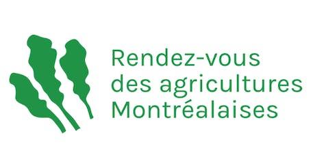Rendez-vous des agricultures montréalaises billets
