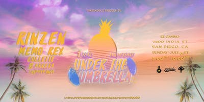 Pineapple Presents: Under The Umbrella w/ Rinzen and Memo Rex