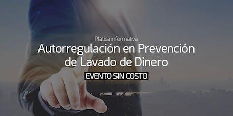 Autorregulación en Prevención de Lavado de Dinero entradas