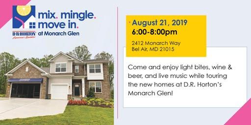 Mix. Mingle. Move-In. at Monarch Glen