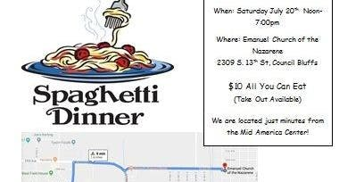 Carb Cram before the Great Race: Spaghetti Feed Fundraiser