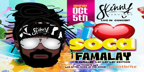 I LOVE SOCA tickets