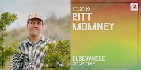 Ritt Momney @ Elsewhere (Zone One) tickets