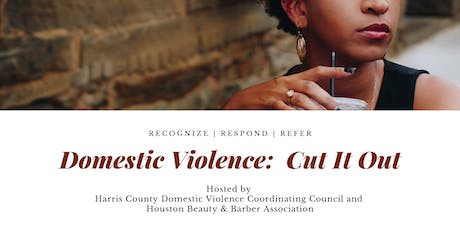 Domestic Violence:  Cut It Out tickets