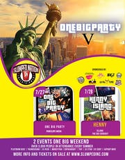 ONE BIG PARTY WEEKEND tickets