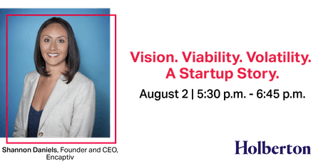 Vision. Viability. Volatility. A Startup Story. tickets