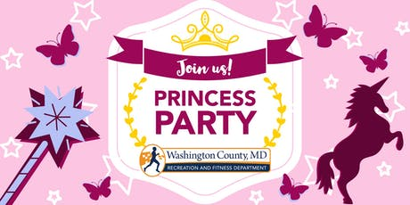 Princess Party - Washington County Recreation Department tickets