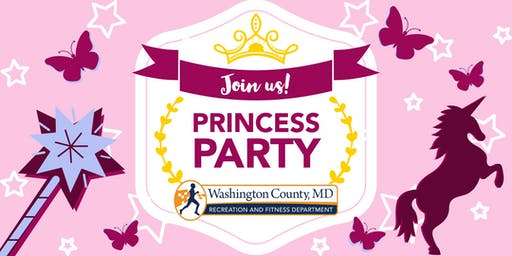 Princess Party - Washington County Recreation Department