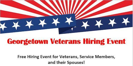 2019 Georgetown Veterans Job Fair tickets