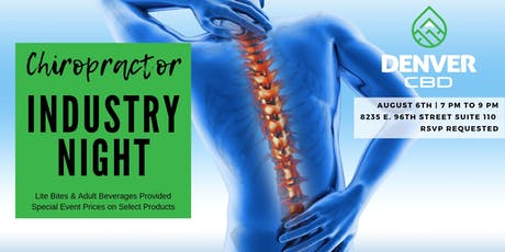 Chiropractor Industry Night at Denver CBD Indianapolis tickets