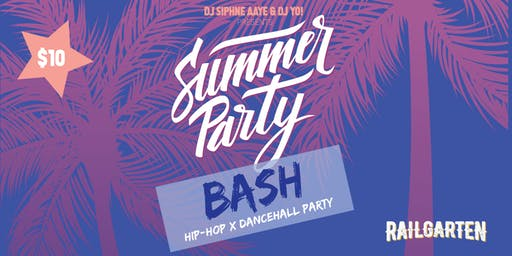 DJ Siphne Aaye and DJ Yo! presents Summer Party Bash