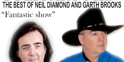 Garth Brooks and Neil Diamond